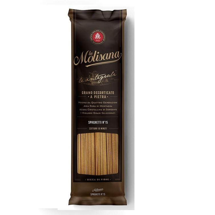 (全館單筆滿500,度小月到本月底,寄送台灣本島免運費)La Molisana茉莉全麥直麵(le integrali spaghetti)500公克   1入