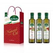 (預購單,專用橄欖油缺貨中。)奧利塔專用橄欖油250ml頂級禮盒(肉類、海鮮、蔬菜)