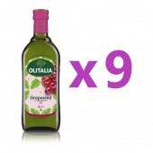 (全館單筆滿500,限台灣本島免運費;滿1500再送滿額禮。)奧利塔葡萄籽油1L  9瓶組
