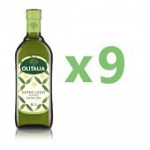(全館單筆滿500,限台灣本島免運費;滿1500再送滿額禮。)奧利塔精緻橄欖油1L  9瓶組