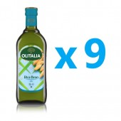(全館單筆滿500,限台灣本島免運費;滿1500再送滿額禮。)奧利塔玄米油1L  9瓶組