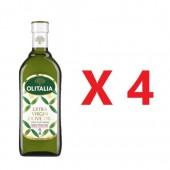 (全館單筆滿500,度小月到本月底,寄送台灣本島免運費)奧利塔特級初榨橄欖油1公升 4瓶組