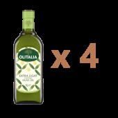 (全館單筆滿500,限台灣本島免運費;滿1500再送滿額禮。)奧利塔精緻橄欖油1L  4瓶組。