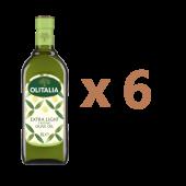 (全館單筆滿500,限台灣本島免運費;滿1500再送滿額禮。)奧利塔精緻橄欖油1公升6瓶組