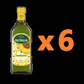 (全館單筆滿500,度小月到本月底,寄送台灣本島免運費)樂活(Lohas)好康組合(3) - 葵花油1L 6瓶組