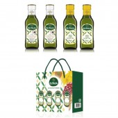 (全館單筆滿500,度小月到本月底,寄送台灣本島免運費)奧利塔250ml(特橄2罐+純橄2罐)  4入彩盒組