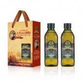 (全館單筆滿500,限台灣本島免運費;滿1500再送滿額禮。)喬凡尼老樹特級初榨橄欖油 500ml  2入 禮盒組