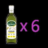 (全館單筆滿500,度小月到本月底,寄送台灣本島免運費)奧利塔高溫專用葵花油  750ml  6瓶組
