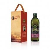 (全館單筆滿500,限台灣本島免運費;滿1500再送滿額禮。)義大利Giurlani 喬凡尼葡萄籽油1L(玻璃瓶)  1入禮盒
