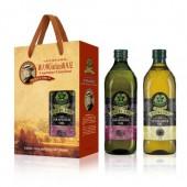 (全館單筆滿500,度小月到本月底,寄送台灣本島免運費)喬凡尼(葡萄籽油 1L + 葵花油1L) 禮盒