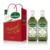(超商取貨,免運,限購1組)奧利塔特級初榨橄欖油1L  2入禮盒組