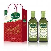 (超商取貨,免運,限購1組)奧利塔精緻橄欖油1L  2入禮盒組