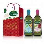 (全館單筆滿500,限台灣本島免運費;滿1500再送滿額禮。)玄米油 1L+ 葡萄籽油 1L 禮盒組