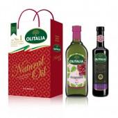 (預購單,巴薩米克醋缺貨中。)葡萄籽油(1L)+巴薩米克醋(500ml) 禮盒組