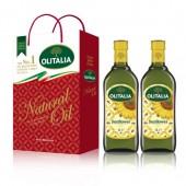 (超商取貨,免運,限購1組)奧利塔頂級葵花油1L  2入禮盒 + 奧利塔頂級葵花油500ml  1罐。