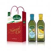 (全館單筆滿500,度小月到本月底,寄送台灣本島免運費)玄米油(500ml)+葵花油(500ml)禮盒組,