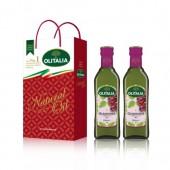 (全館單筆滿500,限台灣本島免運費;滿1500再送滿額禮。)葡萄籽油 GrapeSeed 500ml 雙入 禮盒組
