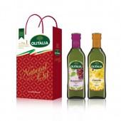 (全館單筆滿500,度小月到本月底,寄送台灣本島免運費)葡萄籽油 500ml + 芥花油 500ml  禮盒組