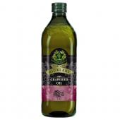 (全館單筆滿500,度小月到本月底,寄送台灣本島免運費)義大利Giurlani 喬凡尼葡萄籽油1L(玻璃瓶)  1入