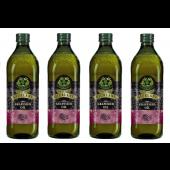 (全館單筆滿500,限台灣本島免運費;滿1500再送滿額禮。)義大利Giurlani 喬凡尼葡萄籽油1L(玻璃瓶)  4瓶組