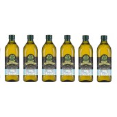 (全館單筆滿500,限台灣本島免運費;滿1500再送滿額禮。)義大利Giurlani 喬凡尼玄米油1L(玻璃瓶)  6入組