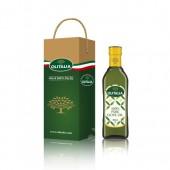 (全館單筆滿500,度小月到本月底,寄送台灣本島免運費)純橄欖油 100% Pure  500ml  單入    禮盒組