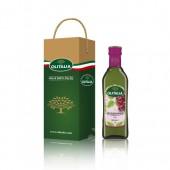 (全館單筆滿500,限台灣本島免運費;滿1500再送滿額禮。)奧利塔葡萄籽油  500ml  單入    禮盒組